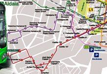 Nuevos horarios de autobuses de Vitoria en agosto
