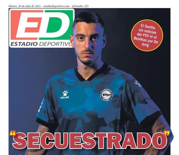 Sevilla presiona y presiona ¡No conocen a Josean Querejeta!