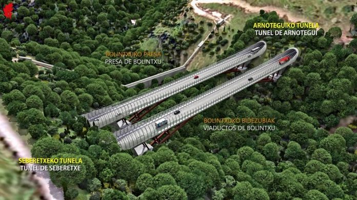 Nuevos viaductos para la Supersur en Bizkaia ¡Ni mu del precio!