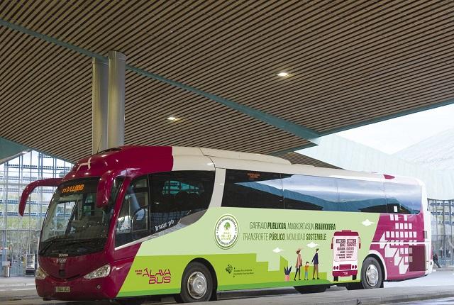 Autobuses gratis 1 día en Álava
