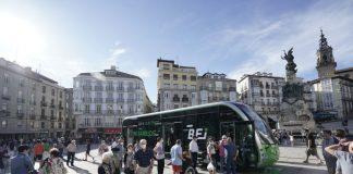 El BEI saldrá a las calles de Vitoria sin terminar las obras