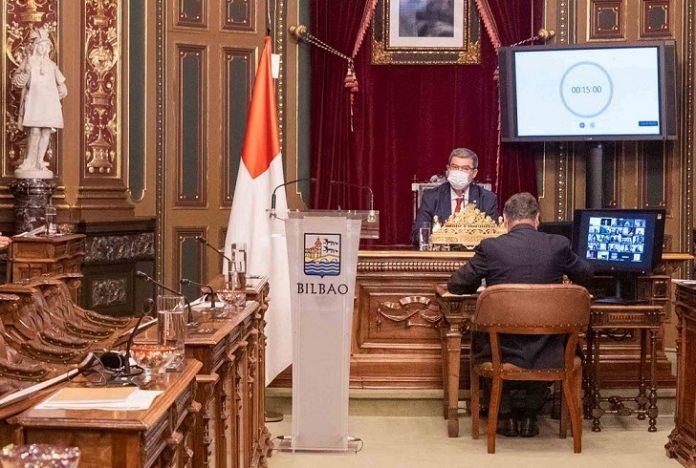 Se adjunta la intervención prevista del Alcalde de Bilbao, Juan Mari Aburto, en el Pleno del Estado de la Villa de Bilbao: