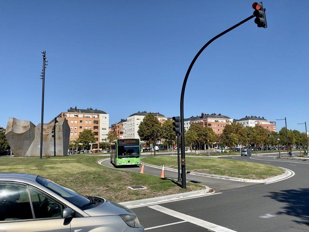 """Fracasa la cacareada """"prioridad semafórica"""" de buses en Vitoria"""